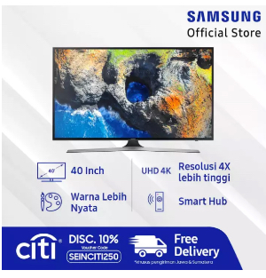 Samsung UHD Digital Smart LED TV 40""