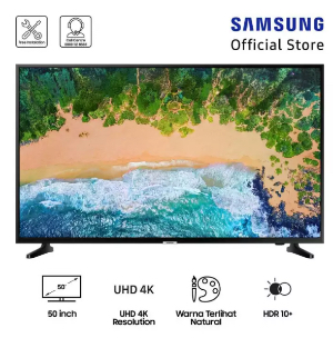 "Samsung UHD 4K Smart TV 50"" NU7090"