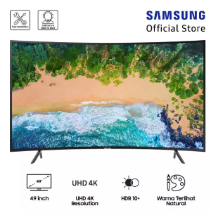 "Samsung Curved UHD 4K Smart TV 49"" NU7300"