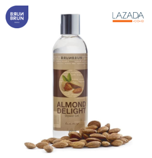 Almond shower gel