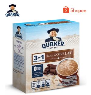 Quaker Festive Pack Instant Oat 800g + Box 4x35g Free lunch Box