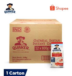 Quaker Instant Oat 800g Carton