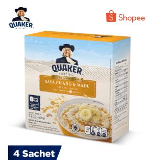 Quaker FIO Pisang Madu Box 4s