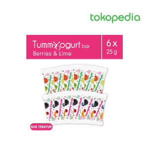 Tummy Yogurt Bar Berries dan Lime