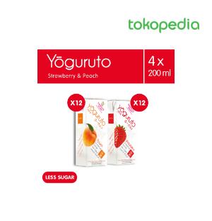 Yogurt Drink To Go Strawberry  Peach