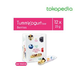 Tummy Yogurt Bar Berries 12Pcs