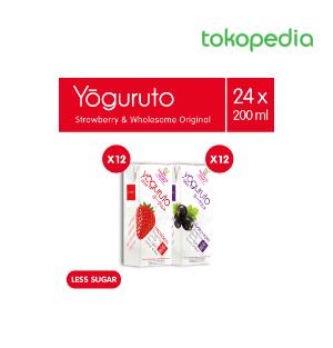 Yogurt Drink To Go Strawberry Blackurrant