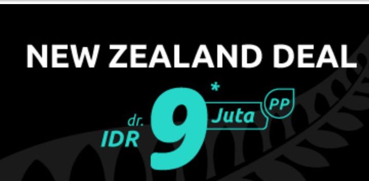 New Zealand mulai dari 9 juta
