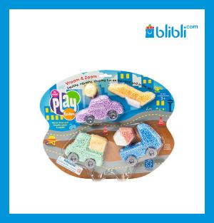 Educational Insights Playfoam Vroom & Zoom Themed Set Mainan Edukasi Anak