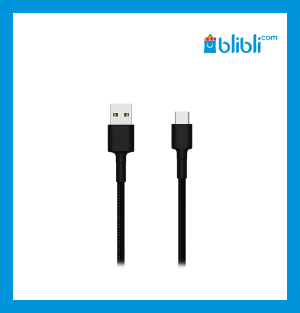Xiaomi Mi Type A to Type C Braided Cable Black