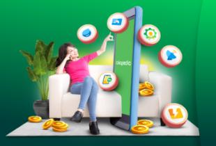 Khusus Pengguna Baru, Bayar Produk Digital Cashback Hingga Rp 400.000