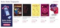 Diskon 20% Buku Best Sellers di Gramedia