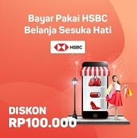 Diskon Bukalapak dengan Kartu HSBC