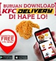 Download Apps KFC Delivery Dapatkan Free Wings