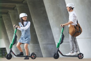 E-skuter Ramah Lingkungan dari Grab