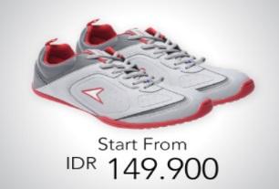 Sepatu Lari Mulai dari 150.000