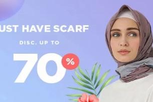 Diskon Hijab Hingga 70% di JDID
