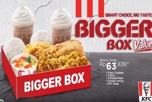 Kelezatan Bigger Box Value KFC