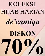 Koleksi hijab De'Cantiqu