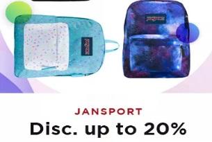 Diskon Jansport Hingga 20%