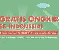 GRATIS ONGKIR Belanja Minimal 100.000 di Aplikasi Lemonilo