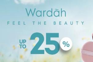 Diskon 25% Produk Wardah di JDID