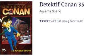 Diskon Detektif Conan di Gramedia