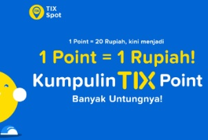 Tix Point untuk Hemat Belanja