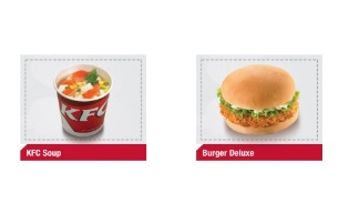 Pilihan Makanan Serba Goceng di KFC
