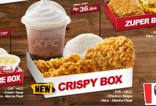 Hemat dengan Bix Box Value KFC