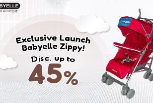 Stroller Babyelle Zippy Diskon Hingga 45%