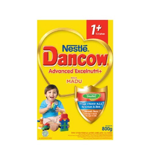 DANCOW Adv. Excelnutri + 1+ Madu Box 800g - Bundle Isi 2 Box