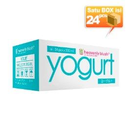 Heavenly Blush Drink To Go Rasa Plain Yogurt [200 mL/ 1 karton x 24 pcs]