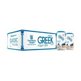 Heavenly Blush Greek Classic Yoghurt [200 mL/24 Pcs]