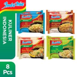 8 Pcs - Indomie Kuliner Nusantara Mixed Flavor