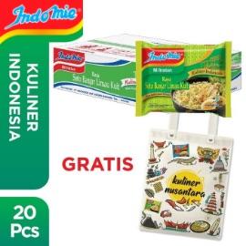 1 Dus isi 20 Pcs - Indomie Banjar Limau Kuit + Free Tote Bag