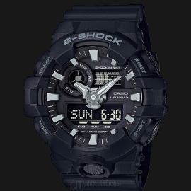 Casio G-Shock GA-700-1BDR Water Resistant 200M Resin Band