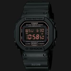 Casio G-Shock DW-5600MS-1DR Men Digital Dial Black Resin Strap
