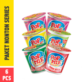 Pop Mie Paket Nonton Series 6pcs 450 gr