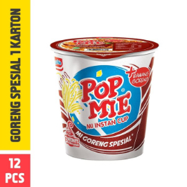 Pop Mie Goreng Special 1 Dus/12pcs 1,920gr