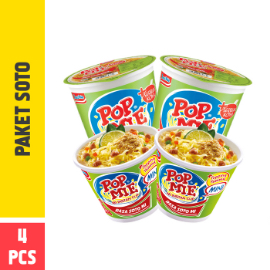 Pop Mie Paket Soto 4pcs 226gr