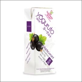 HEAVENLY BLUSH Yogurt Drink Blackcurrant 200ml