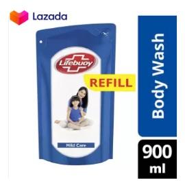 Lifebuoy Sabun Cair Mild Care Refill 900Ml