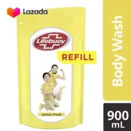 Lifebuoy Sabun Cair Lemon Fresh Refill 900Ml