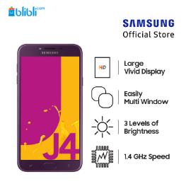 Samsung Galaxy J4 - Purple [32GB/ 2GB/ O]