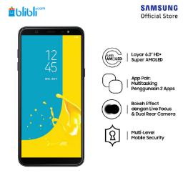 Samsung Galaxy J8 - Black [64GB/ 4GB/ O]