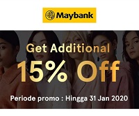Diskon Tambahan Belanja di Zilingo dari Maybank