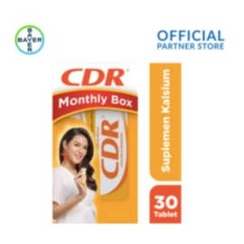 CDR Raisa Hamish Monthly Box (CDR Rasa Jeruk 15 Tablet x 2 Unit)