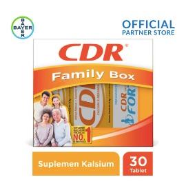 Family Pack (CDR Rasa Jeruk 20 Tablet, CDR Fortos Rasa Jeruk 10 Tablet)