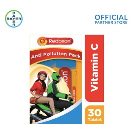 Redoxon Anti-pollution Pack (Redoxon Rasa Jeruk 15 Tablet x 2 Unit)